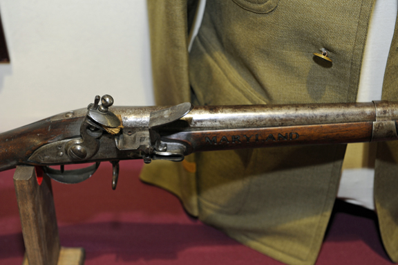 Maryland Branded Musket