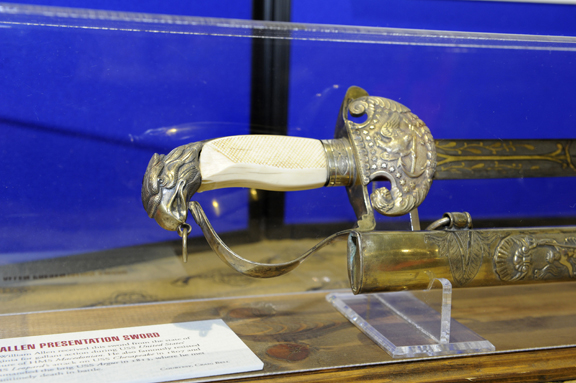 Ivory Grip Presentation Sword